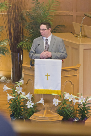 Mike Langer, Pastor of Spiritual Formation and Outreach at Glen Ellyn Evangelical Covenant Church. (Photo courtesy of Pastor Mike Langer)