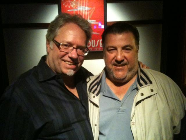 (Gene Ambo) Joe Prino, left, with Scott Gelman.