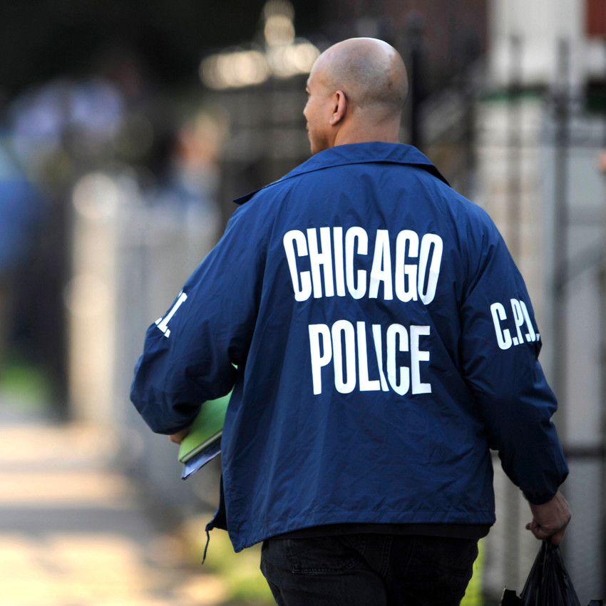 File: Chicago police officer. (AP)