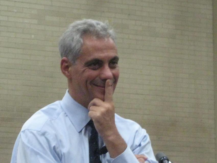 File: Mayor Rahm Emanuel. (WBEZ/Chip Mitchell)