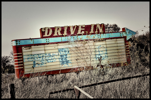 Is this the future of the drive-in? (flickr/Pete Zarria)