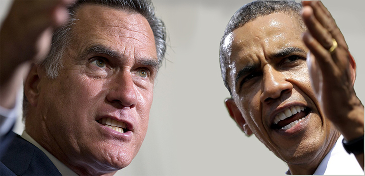 Some post-debate polls shows Romney gaining ground. (AP)
