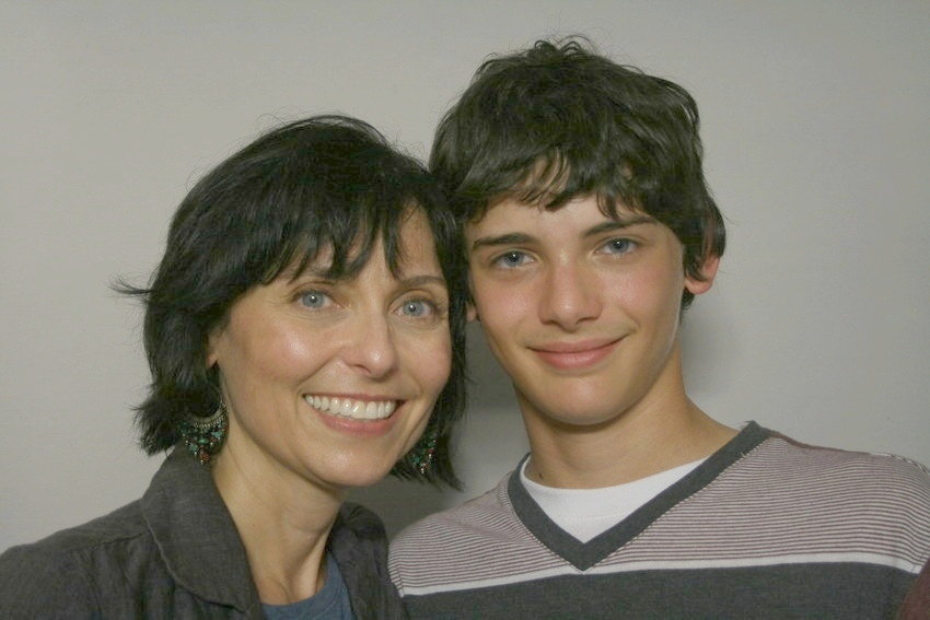 Lynette Bisconti and her son, Frank (Photo by StoryCorps)