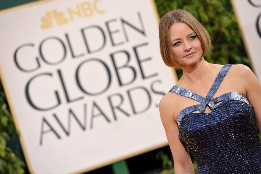 Jodie Foster at the Golden Globes (Photo by John Shearer/Invision/AP)