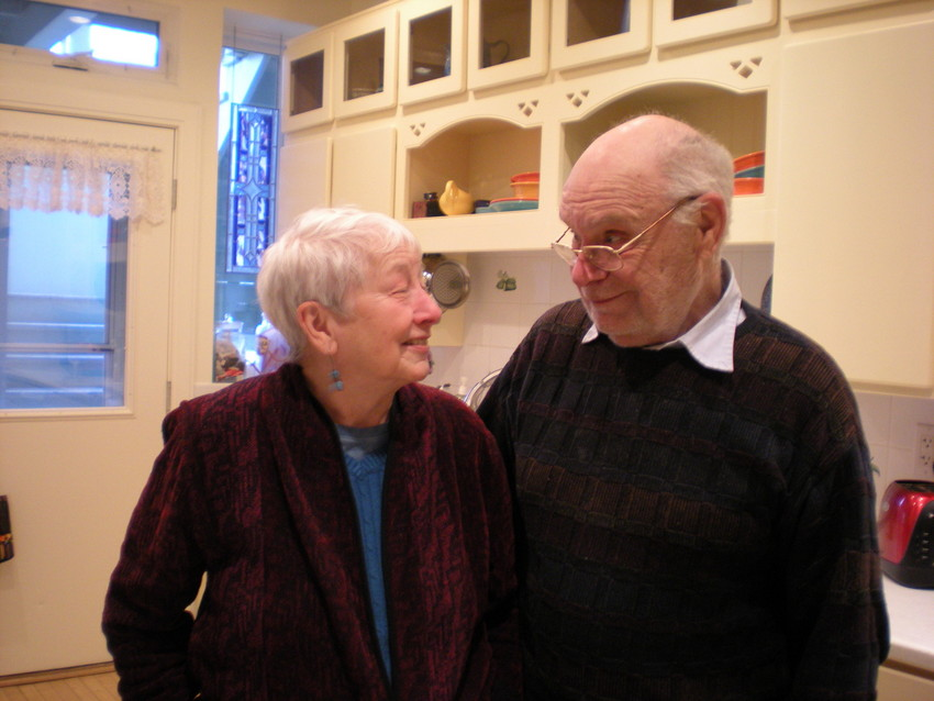 Norm and Mary Jo Bowers (WBEZ/Judy Valente)