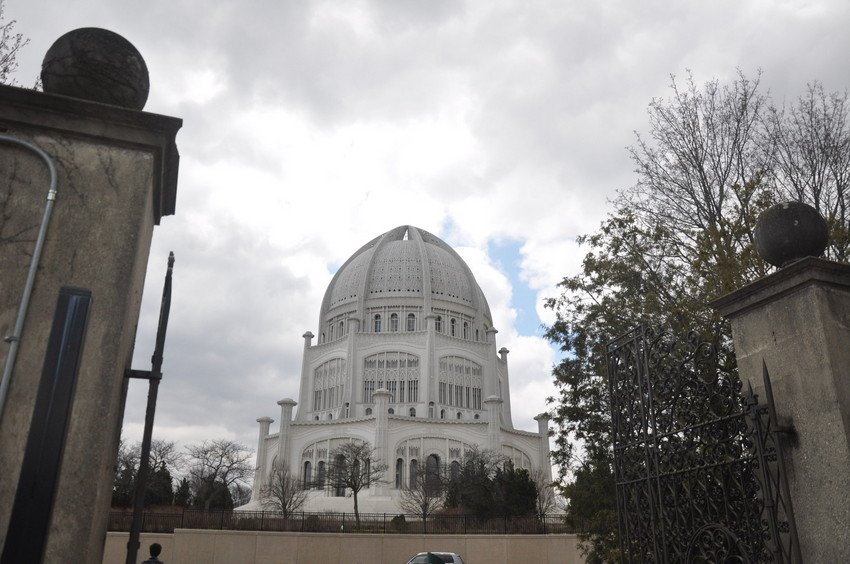 The Bahá'í House of Worship in Wilmette. (WBEZ/Andrew Gill)