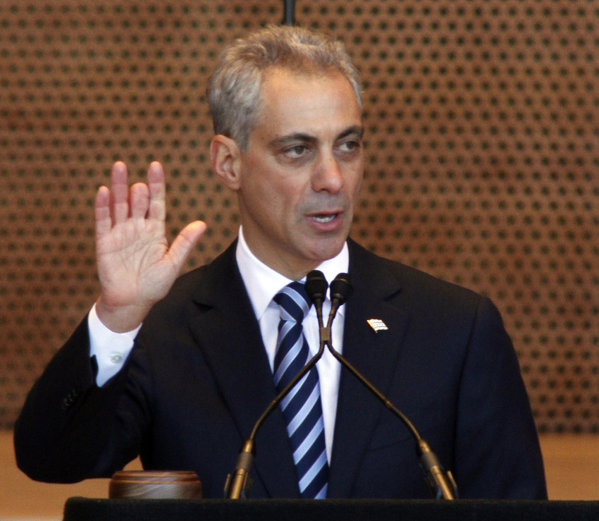 Mayor Emanuel presides without checks and balances over Chicago. (AP)