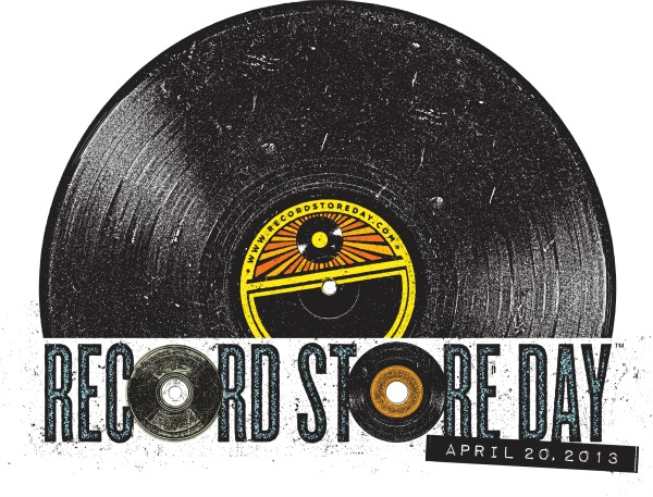 The official logo for Record Store Day 2013 (RecordStoreDay.com)