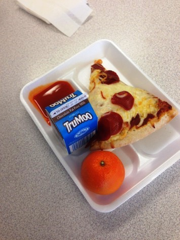 CPS lunch (Courtesy of anonymous CPS students)