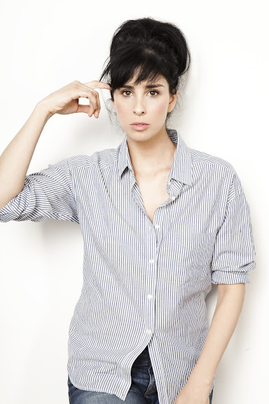Sarah Silverman hosts 'Sarah's Pro Choice' at TBS Just for Laughs Chicago, 2012.