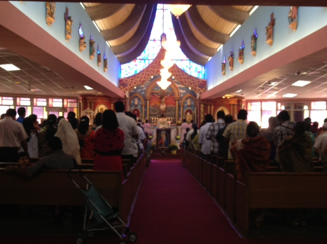 Sacred Heart Knanaya Catholic Parish in Maywood, IL, is one of two Knanaya churches in the greater Chicago area. The Knanaya Catholic church in the U.S. has recently reached new levels of conflict over whether to preserve their ancient tradition of endogamy.