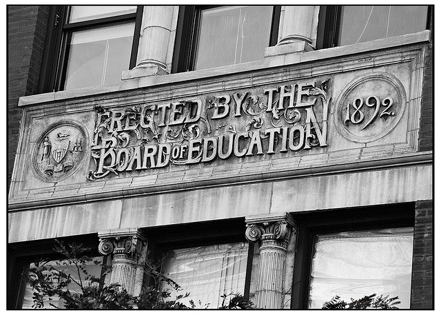 The state of Illinois established a Board of Education in 1872 that oversaw public education in Chicago. (Flickr/Seth Anderson)