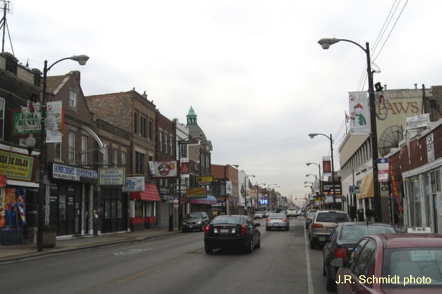26th Street commercial strip
