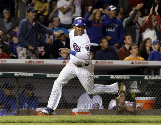 Cubs shortstop Starlin Castro makes his second appearance on the All-Star team. (AP/Charles Rex Arbogast)