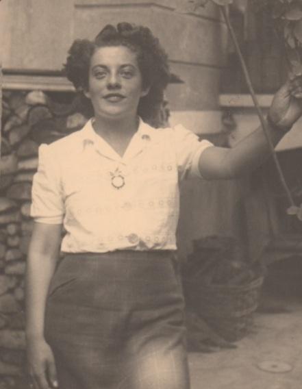 Tea circa WWII (Photo courtesy of her family)