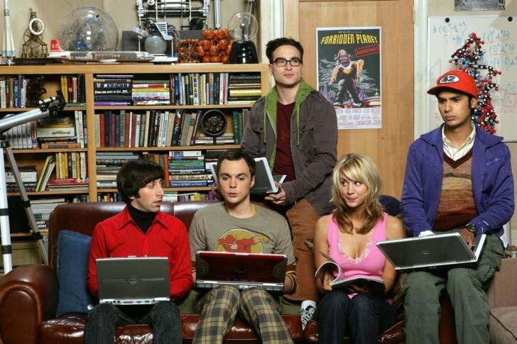"""Publicity photo for """"The Big Bang Theory."""" (CBS/Big Bang Theory)"""
