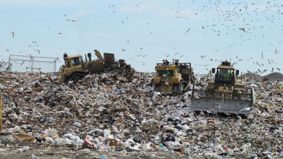 The Old Dominion landfill in Virginia. (Bill McChesney/Flickr/CC BY 2.0)