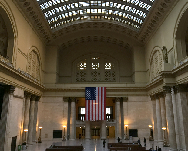 Union Station's Great Hall. (WBEZ/Greta Johnsen)