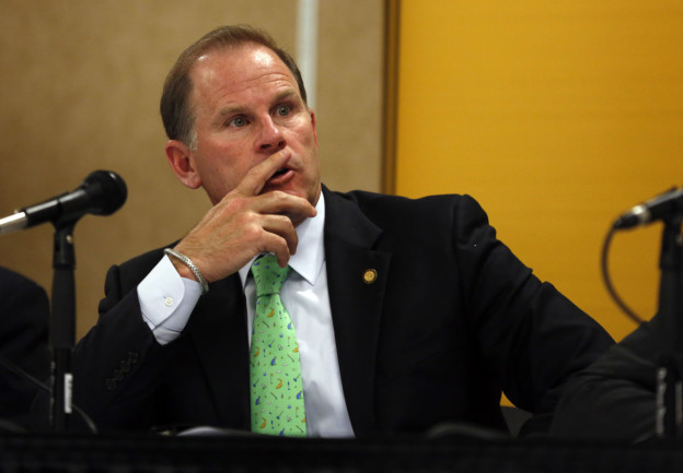 University of Missouri President Tim Wolfe. (Jeff Roberson/AP)
