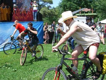 The Tour de Fat celebrates bike culture. (Flickr/Oxalis)