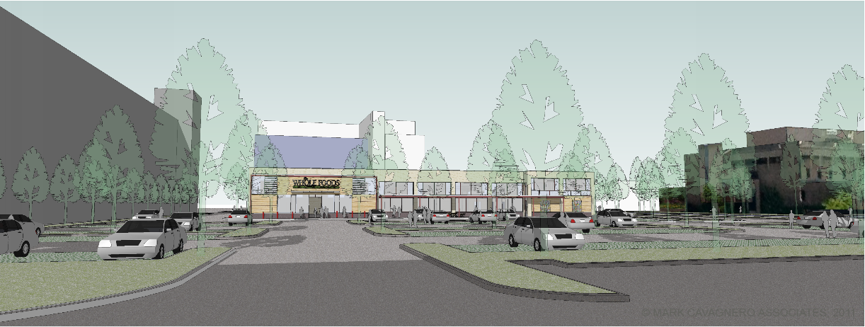 A rendering of the proposed Whole Foods at 63rd St and Halsted Avenue in the Englewood neighborhood.