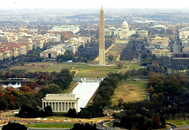 The National Mall (WikiCommons).