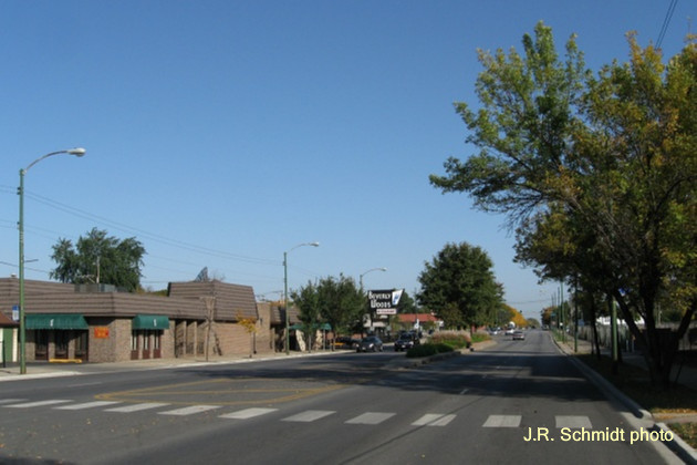 2012--location 'A'--Western Avenue at 116th Street, view north