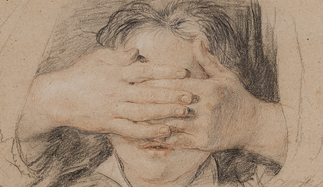 Works like this drawing by Sir David Wilkie are light sensitive and cannot be displayed year-round. (Courtesy of the Art Institute)