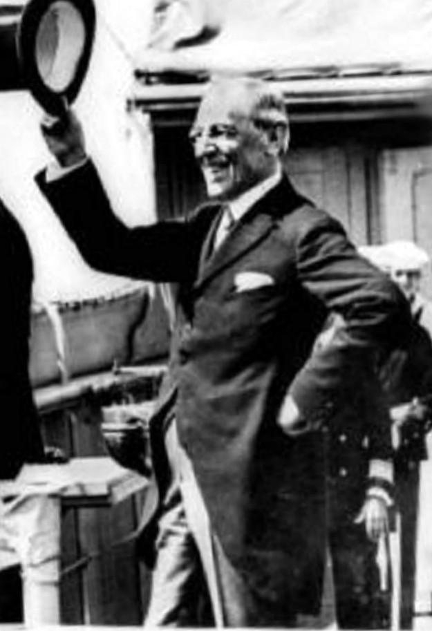 President Woodrow Wilson (Wikipedia)