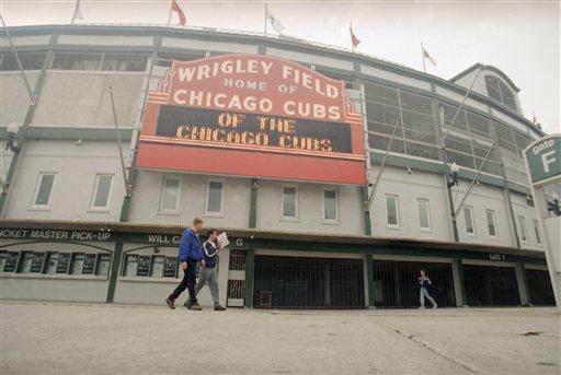Wrigley Field (AP Photo/Charles Bennett)
