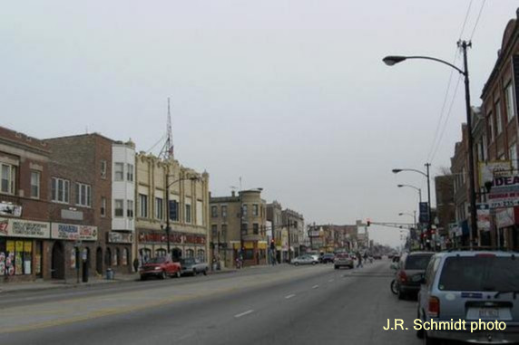 North Avenue commercial strip