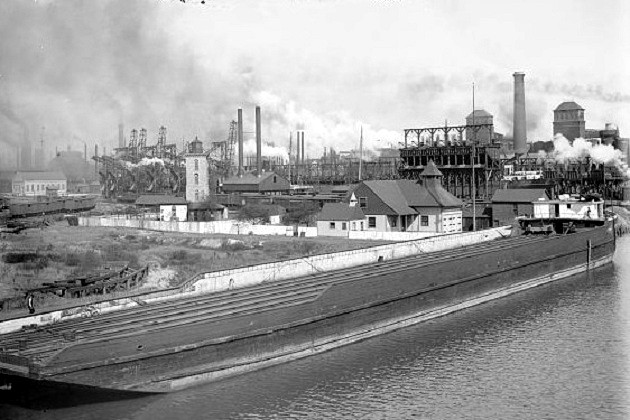 U.S. Steel South Works (Library of Congress)