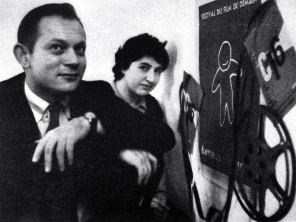Amos Vogel and wife Marcia (www.amosvogel.com)