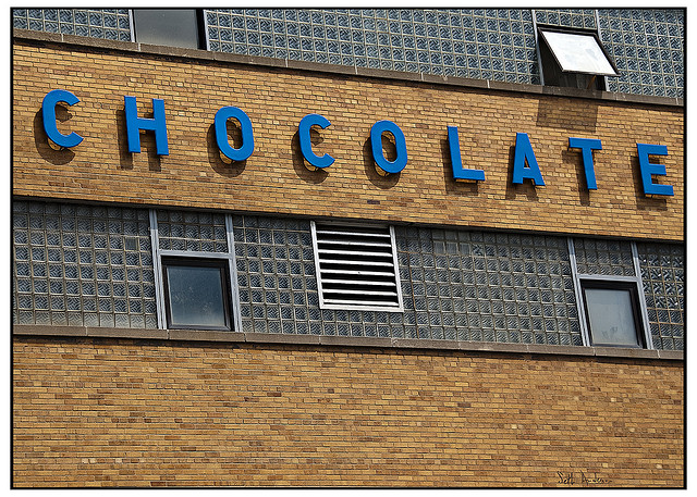 Blommer Chocolate Company's West Loop factory (Flickr/Seth Anderson)