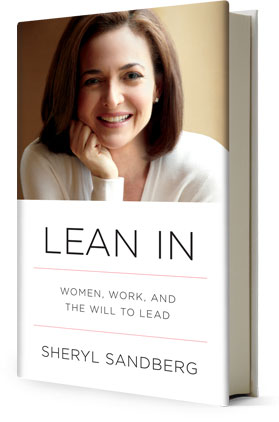 Sandberg's 'Lean In' sold 140,000 copies in its first week. Now the book tops the 'New York Times' and Amazon.com bestseller lists. (Courtesy of Knopf)
