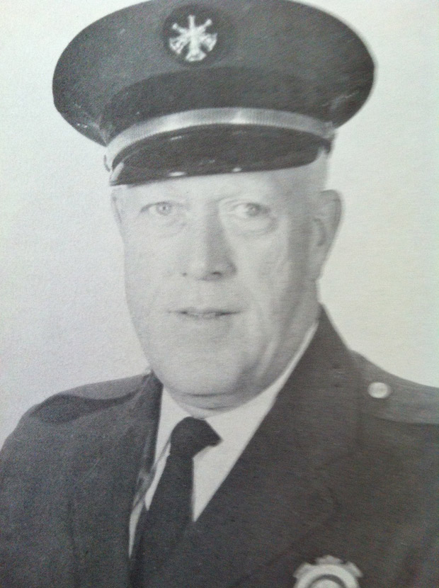 First Deputy Chief Fire Marshal Francis J. Murphy was the head of the Chicago Fire Prevention Bureau in 1969. (Courtesy of Ken Little)