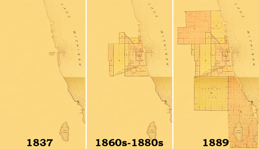 Chicago's population grew tremendously throughout the mid-to-late 19th century. There was hardly an effort to standardize street names and addresses until Edward Paul Brennan came up with a plan. (Click to watch animation of how Chicago grew).