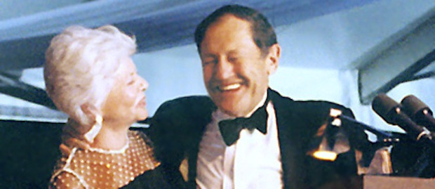 Cindy Pritzker and her late husband Jay, son of family patriarch A.N. Pritzker and co-founder of the Hyatt Hotel Corporation. (Pritzker Prize/Hyatt Foundation)