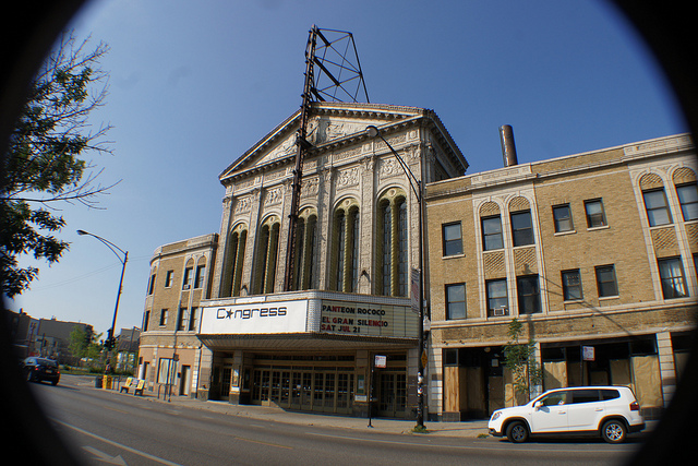 File: Congress Theater. (Flickr/Gary Eckstein)