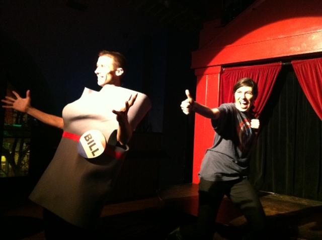 Democracy Burlesque (WBEZ/Alison Cuddy)