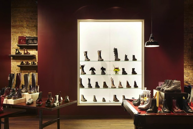 This season, Docs are the new Hunter boots. Pictured: The Dr. Martens store on 1561 N Milwaukee Ave in Wicker Park. (Google Plus/Commons)