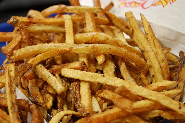 Duck fat fries (WBEZ/Louisa Chu)