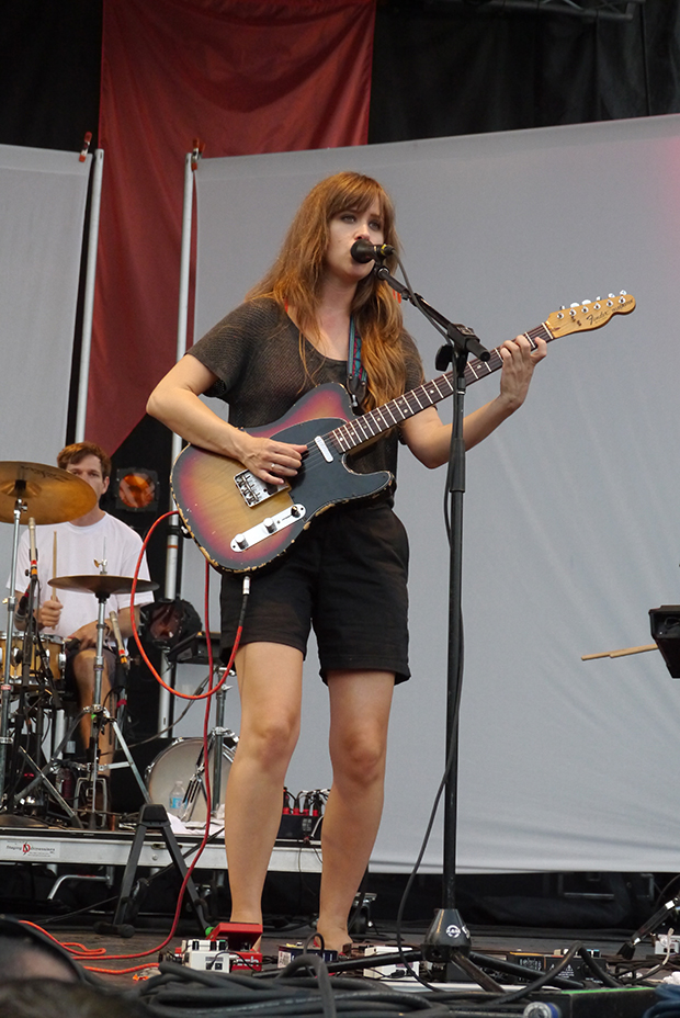 Amber Coffman of Dirty Projectors (WBEZ/Andrew Gill)
