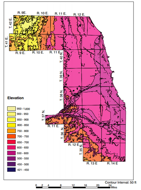 Northwest Chicago Map.Why Chicago Suburb Names Flat Out Lie About Their Elevation Wbez