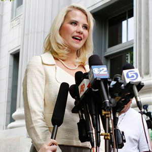 Rape survivor turned advocate Elizabeth Smart says abstinence-only education harms victims of sexual assault. (AP Photo/Jim Urquhart)