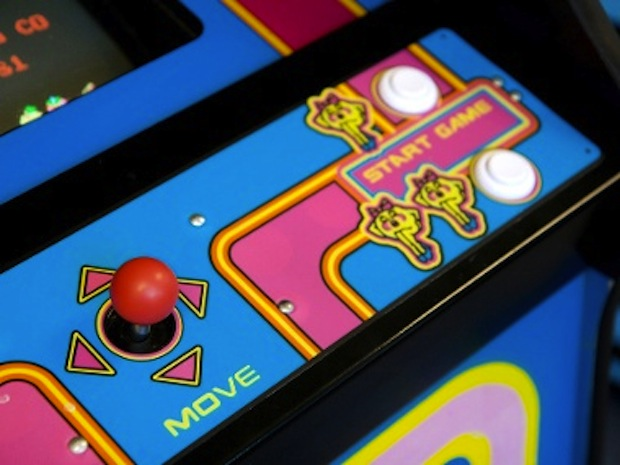 The Ms. Pac-Man game at Wicker Park's Emporium Arcade Bar, 1366 N Milwaukee Ave. (Marcin Wichary/Flickr)