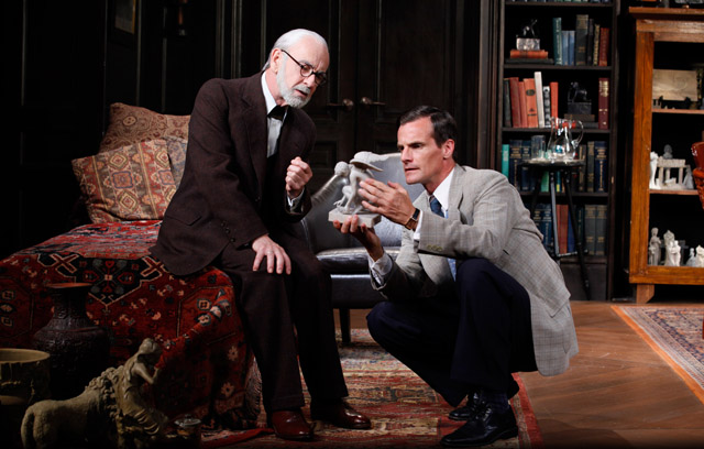 'Freud's Last Session' at New World Stages (Photo by Carol Rosegg)