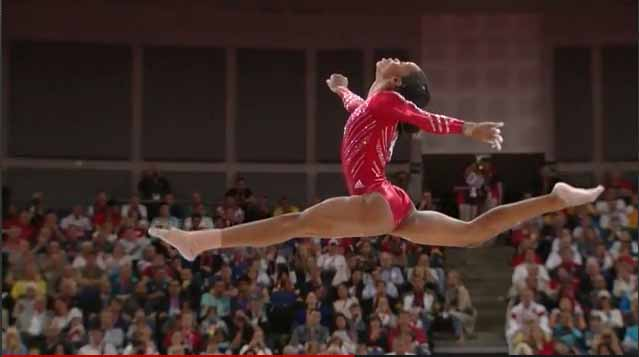 Team USA's Gabby Douglas.