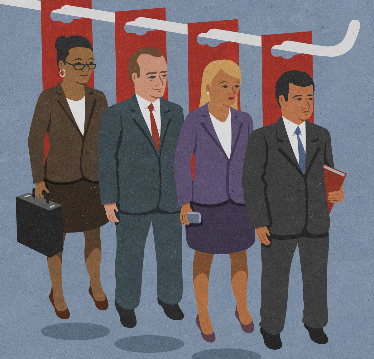 """What happens when """"diversity"""" becomes a corporate buzzword? (John Holcroft/Ikon Images/Getty Images)"""