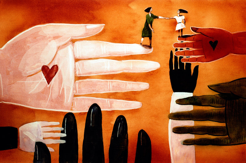 Gratitude Is Good For The Soul And Helps The Heart, Too (Todd Davidson/Illustration Works/Corbis)